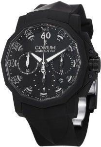 Corum Admirals Cup 44 Chronograph Rubber Strap Mens Watch 75380102F371AN21