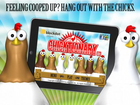 Chicktionary for iPad