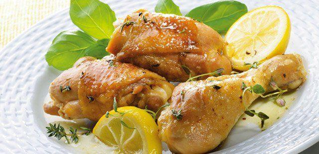 kurczak cytrynowy z tymiankiem