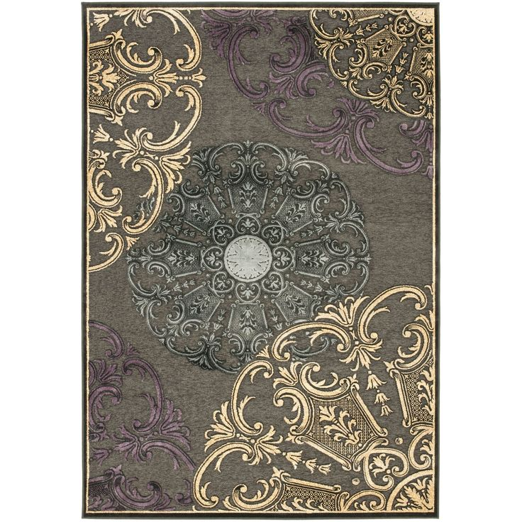 With Traditional European And Floral Designs This Rug Is Powerloomed The Finest Viscose Pile To Living Room RugsDining