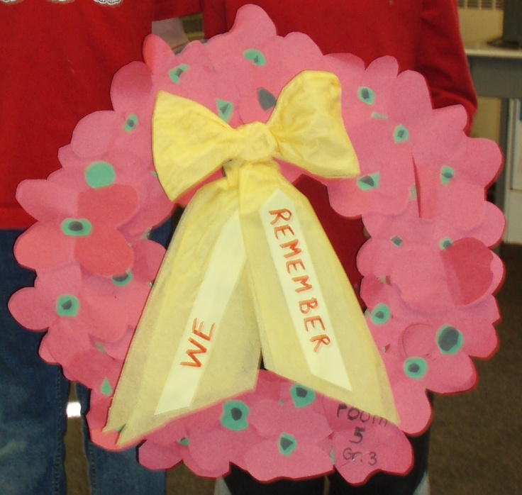 Remembrance Day class wreath