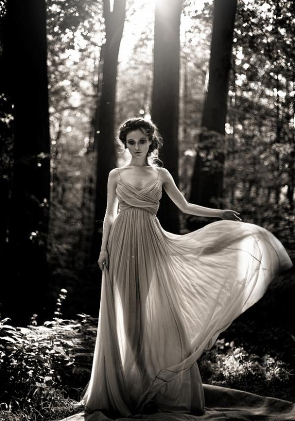 Photography by Moscow Russia based photographer Tatiana Mikhina.: Picture, Ideas, Inspiration, Tatiana Mikhina, Black And White, Dresses, Forest, Photography