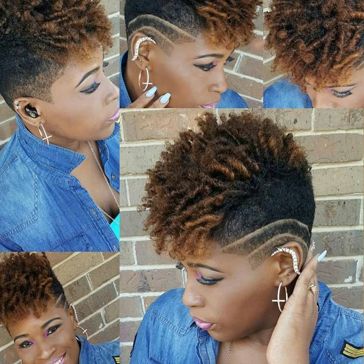shaved sides tapered natural cut
