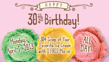 Marble Slab Creamery 30th Anniversary Special ~ Planet Weidknecht