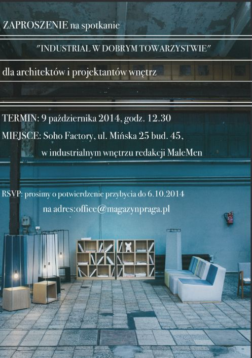 Soho Factory - Warsaw - 09.10.2014!