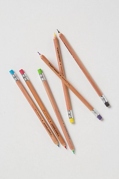 mechanical colored pencils    ...I actually made my own once, using the correct lead and pastel Bic mechanical pencils.