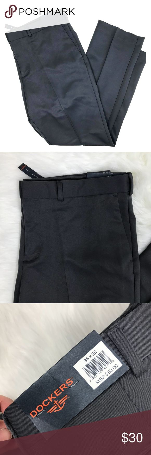 NWT Dockers Slim Fit Dress Pant 36x30 NWT Dockers Slim Fit Dress Pant 36x30. In perfect new with tags condition. Retails $60. Dockers Pants Dress