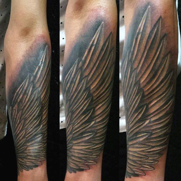 20 Half Sleeve Angel Wing Wrist Tattoos Ideas And Designs