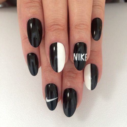 nike nail designs - Google Search
