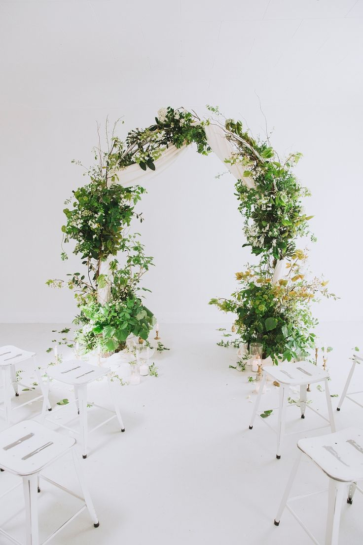 341 best BackdropArchChuppah images on Pinterest Floral arch