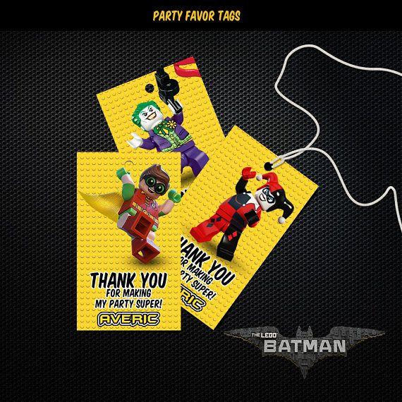 Lego Batman gracias etiquetas, etiquetas del Favor del cumpleaños de Lego Batman, Lego Batman Party imprimibles, etiquetas, Lego Batman, Lego Batman Lego Batman Favor fiesta etiquetas ► QUE EMPAREJA TAMBIÉN DISPONIBLE DE INVITACIÓN DE CUMPLEAÑOS: https://www.etsy.com/listing/510792690/lego-batman-invitation-lego-batman SE TRATA DE UN ARCHIVO DIGITAL. NINGÚN MATERIAL IMPRESO SERÁ ENVIADO POR CORREO Y ENVIADO A SU DIRECCIÓN. -Se trata de un producto digital personal...