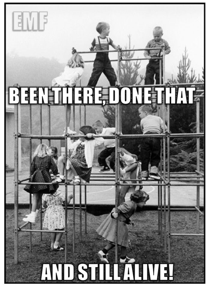 And In A Dress Too Monkey Bars Childhood Memories