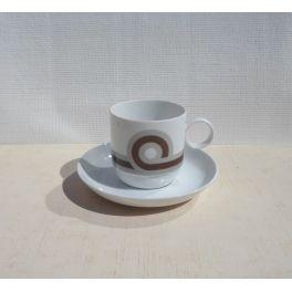 koffiekop en schotel Duo Rosenthal Duitsland