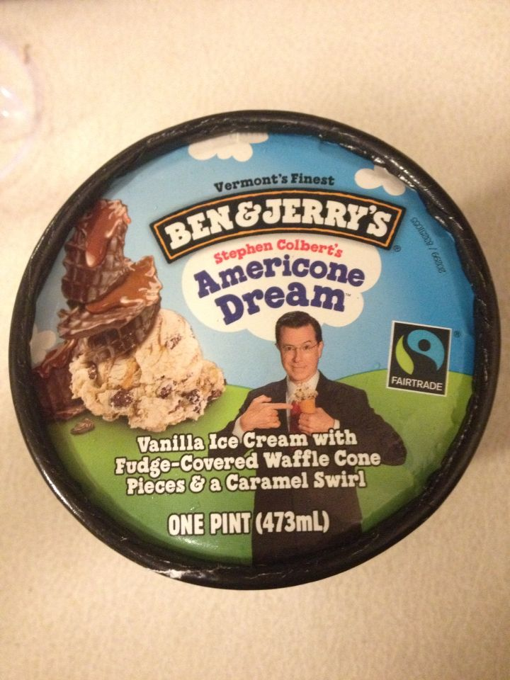 Americone Dream Ice Cream Waffle Cone Ben And Jerrys Ben And