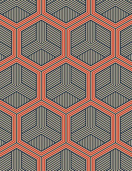 Padrão Hexagonal - Decoração