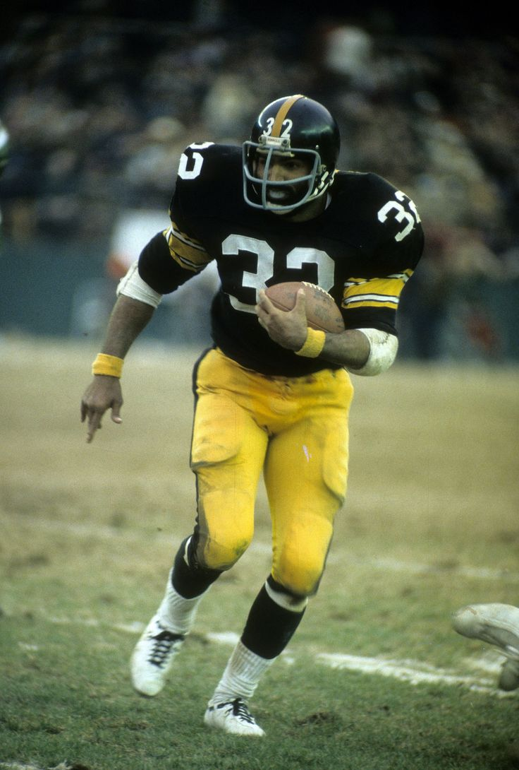 Franco Harris Pittsburgh Steelers to Detroit