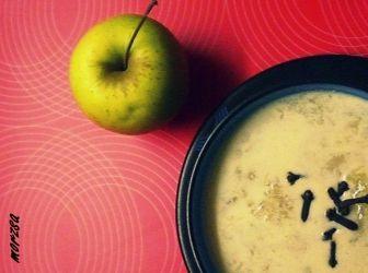 Forró gyömbéres almaleves recept: Ha sok az alma és hideg van kinn... http://aprosef.hu/forro_gyomberes_almaleves