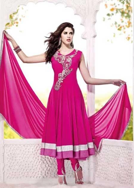 Readymade cute pink salwar kameez