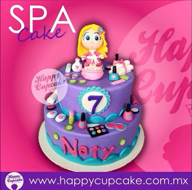 #SpaCake #Spa #HappyCupcake