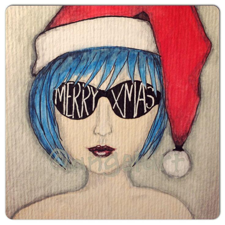 Cool Santa by Angelart