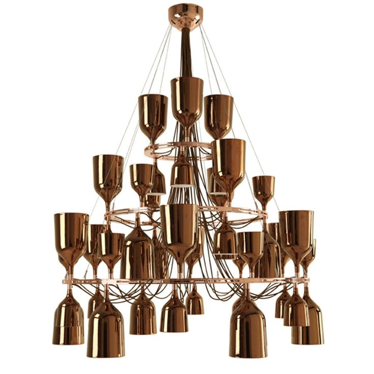 1582.00$  Watch here - http://alip5n.worldwells.pw/go.php?t=32692176360 - Creative Wine Glass Pendant Light Spain Post modern Gold Silver Finished Suspension Light Hotel Villa Project Light 1582.00$
