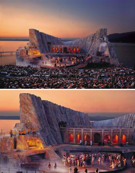 Carmen Opera Set at Bregenz Festival