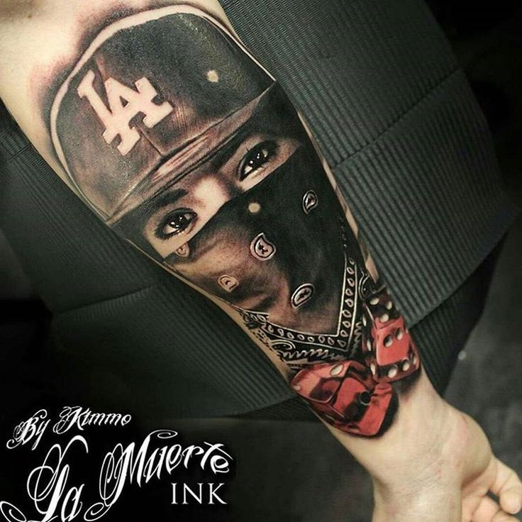 Best 25+ Gangster Tattoos Ideas On Pinterest