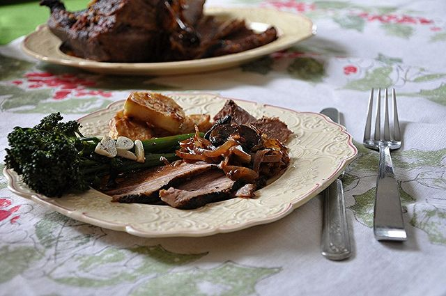 Holiday Braised Brisket by holajalapeno | Food (Entrees) | Pinterest
