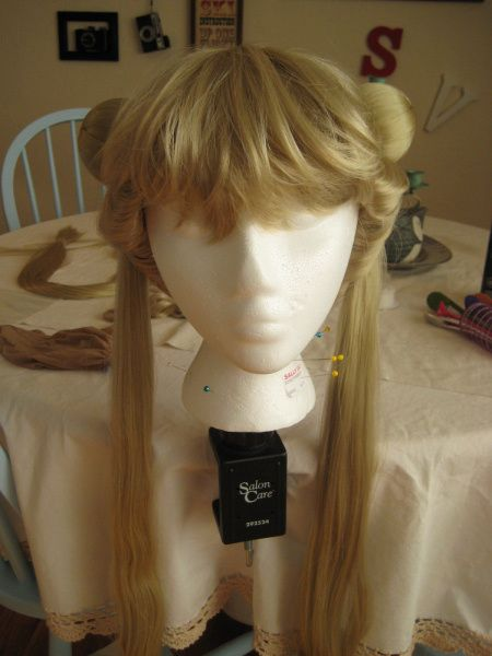 make your own Sailor Moon wig