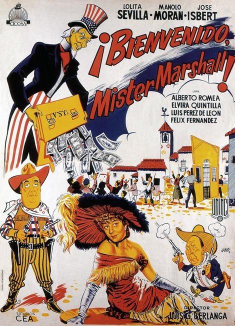 Bienvenido, Mister Marshall : Carteles : Archivo : Berlanga Film Museum
