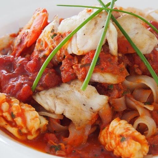 Pressure Cooker Mixed Seafood Marinara Recipe on Yummly