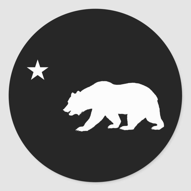 California Bear Postcard California Bear Tattoos California Bear Bear Stencil