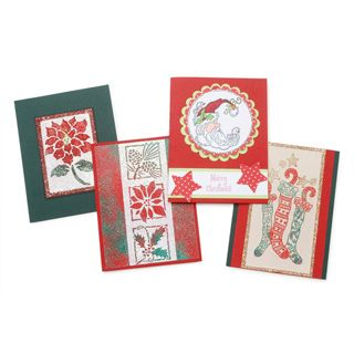 Darice® 4 x 5 Blank Cards and Envelopes: Red & Green, 50 Pack
