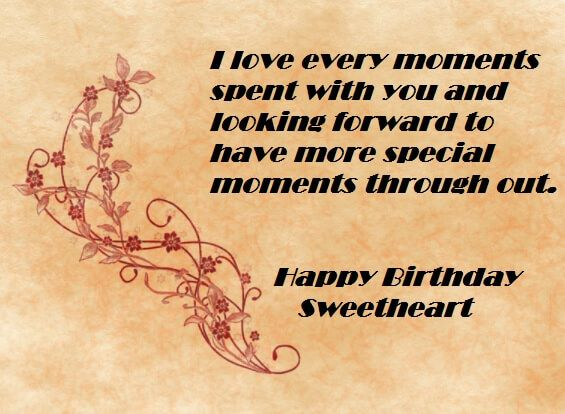 Meaningful Birthday Quotes For Girlfriend | Birthday Wishes