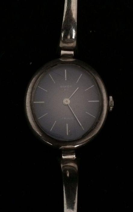 Catawiki online auction house: Zilveren vintage dames horloges van Anker
