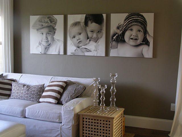 Canvas photos - for the bonus room project.