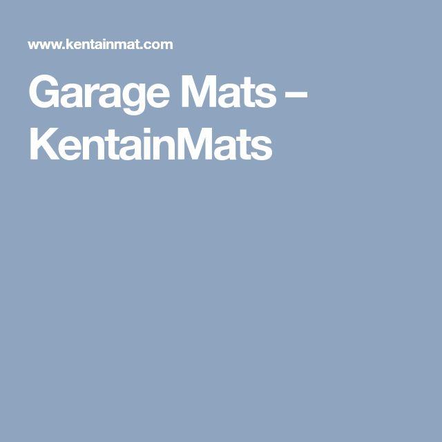 Garage Mats – KentainMats