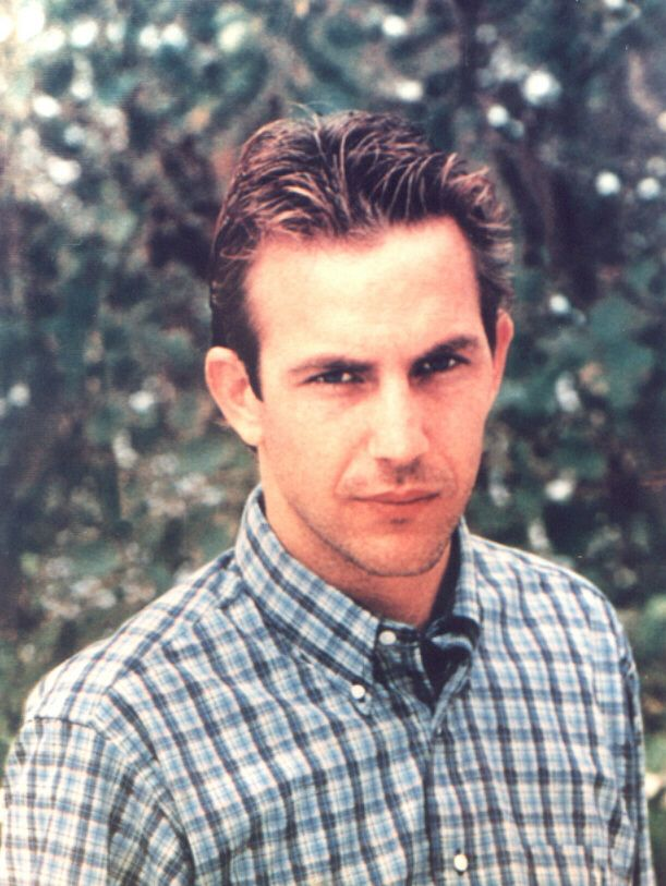 Young Kevin Costner. Swoon
