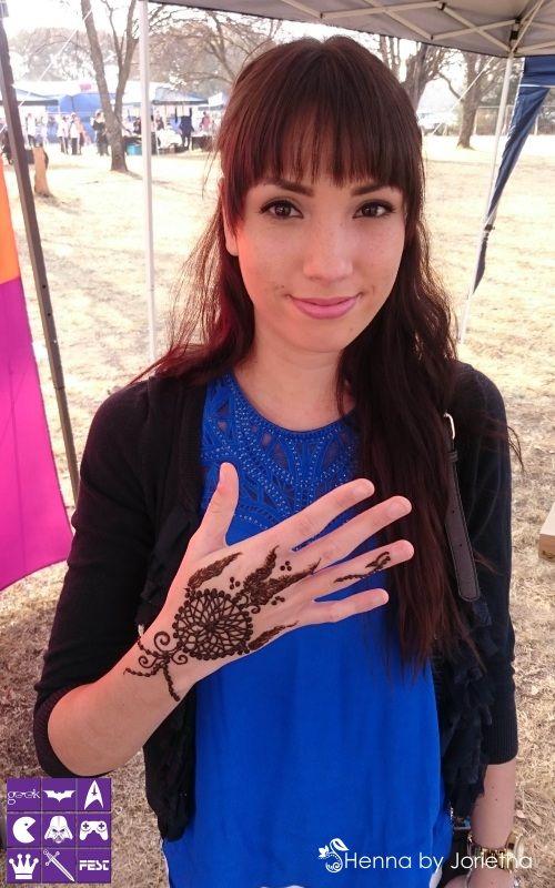 Henna by Jorietha - Henna (Mehndi) Pretoria, Gauteng, South Africa #hennabyjorietha #hennapretoria #hennasouthafrica #mehndi #henna #Mehndipretoria #hennahands #hennafeet #hennabody #hennaback #hennapalm #hennaneck #hennaart #hennainspiration #hennatattoo #naturalhenna #geekfest #geekfest2015 #dreamcatcher