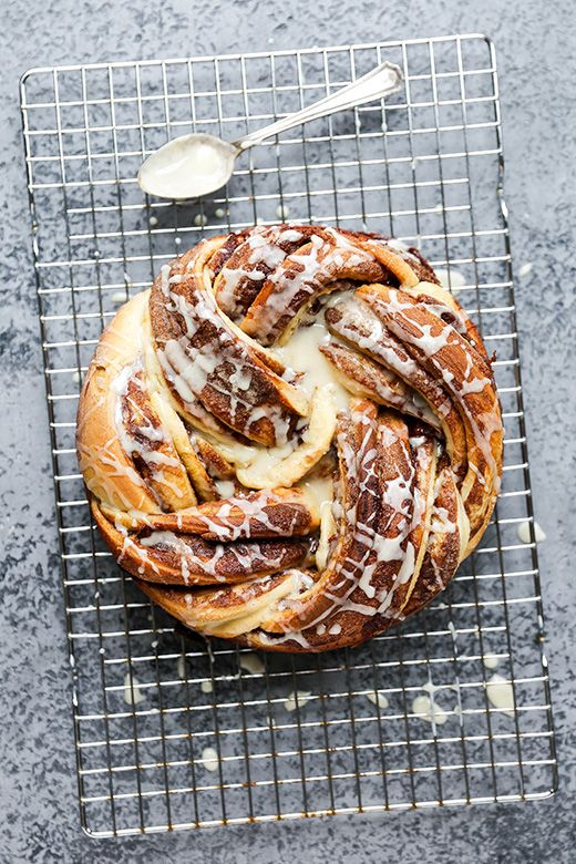 Braided Cardamom and Chocolate Hazelnut Bread | www.floatingkitchen.net