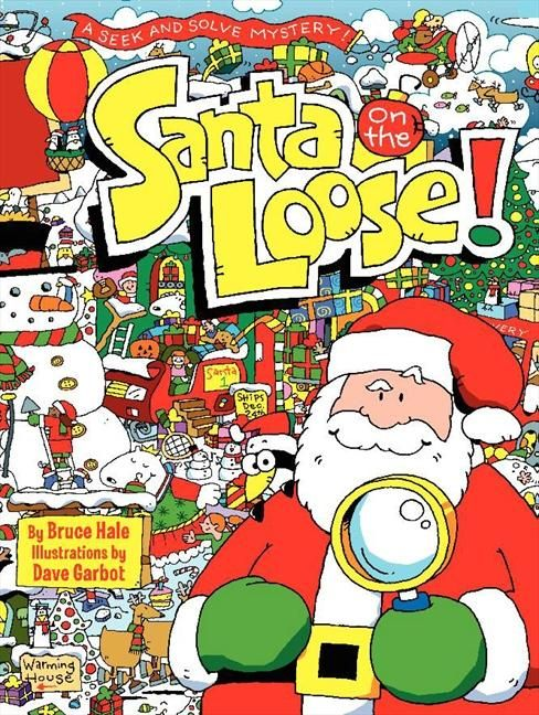 This is a Where's Waldo type book with a Finding Santa twist adding a mystery in through out as well as you find Santa and clues to discover who robbed them of toys. It's an interesting and unexpected but innocent ending and plenty of things to discover and find through out.