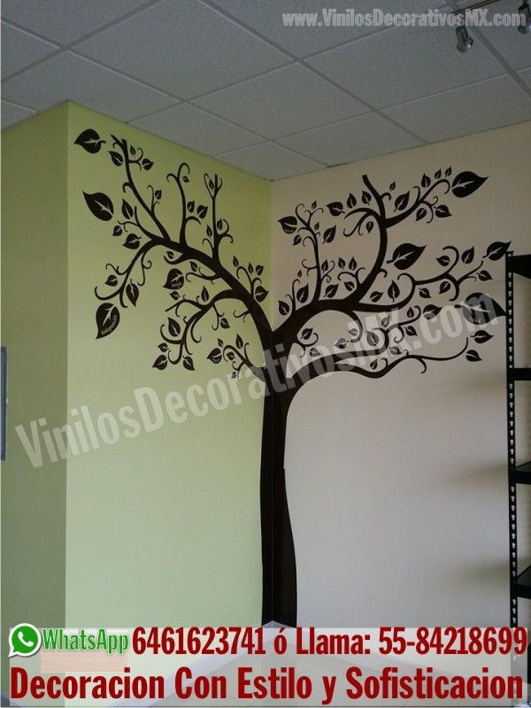 11 best vinilos de arboles images on pinterest family for Decoracion con vinilos