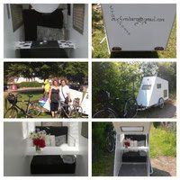 Passanten glaubten auch... - Wohnwagen für's Fahrrad Webseite!