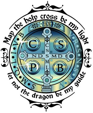 Let not the dragon be my guide. From blog on the New Age Movement  - http://corjesusacratissimum.org/2009/11/an-interlude-on-evil-the-new-age-and-dialogue/