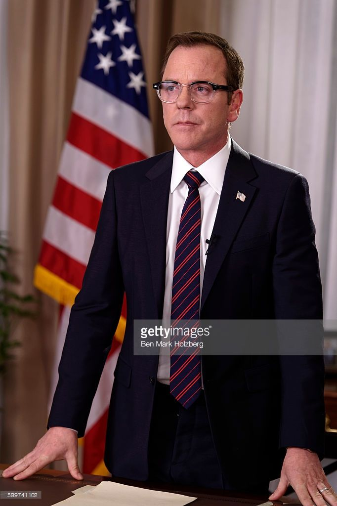 SURVIVOR - 'Pilot' - Kiefer Sutherland stars as Tom Kirkman, a lower-level cabinet member who is suddenly appointed President of the United States after a catastrophic attack on the U.S. Capitol during the State of the Union, on the highly anticipated ABC series 'Designated Survivor,' airing WEDNESDAY, SEPTEMBER 21 (10:00-11:00 p.m. EDT). KIEFER