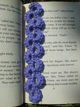 Crochet bookmarks make great last minute gifts for the reader in your life.