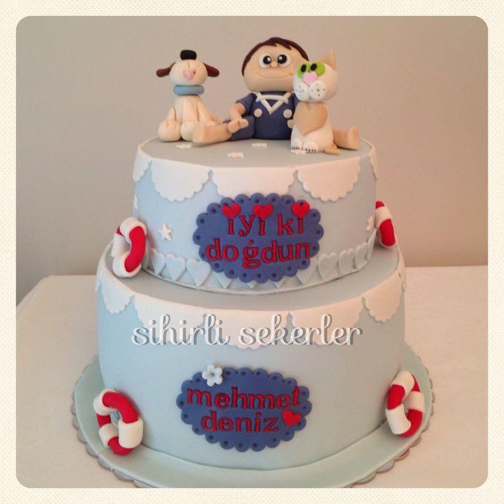 #cake #fondantcake #birthdaycake #pasta #butikpasta #sihirlisekerler