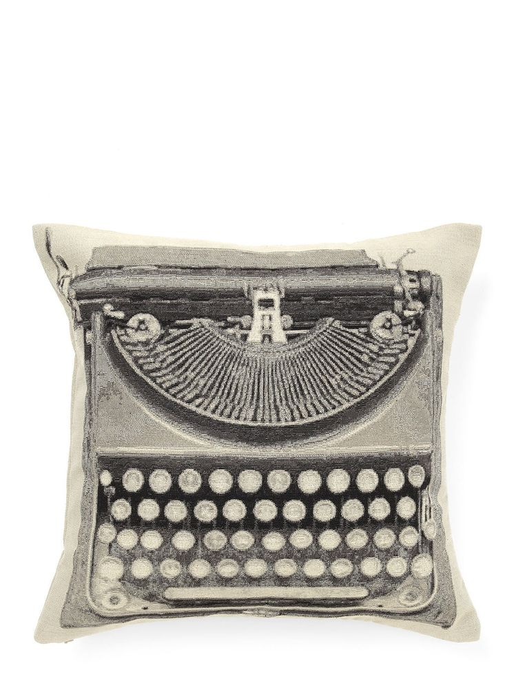 Typewriter Cushion- Natural - design cushions - cushions - For The Home - BHS