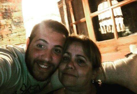 Patito con su mamá en su cumple