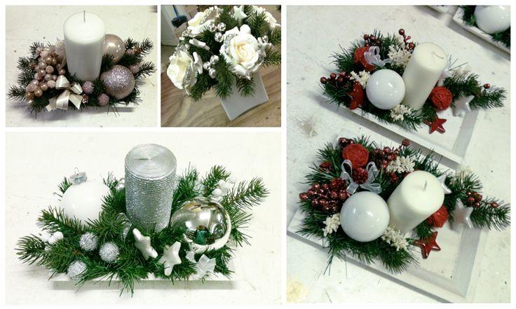 Artificial Flowers Arrangements for Christmas. Composizioni Natale 2016. Decorazioni Natalizie Roma: www.laflorealedistefania.it #fioristaroma #decorazioninatale #laflorealedistefania #fattoamano #handmade #christamsdecorations #christmaswreath #christmas2016 #xmas2016 #homedecor #florist #flowerarrangements